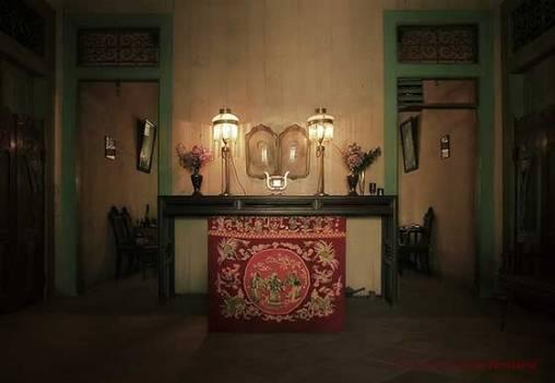 altar leluhur rumah indisch lasem