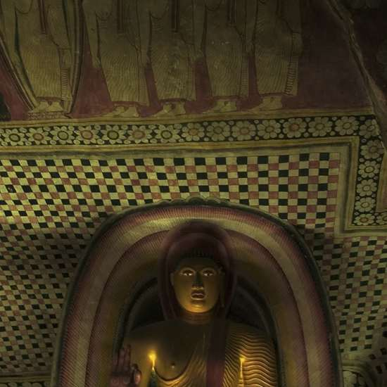 mural tempera dambulla