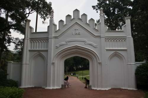 gerbang-fort-canning