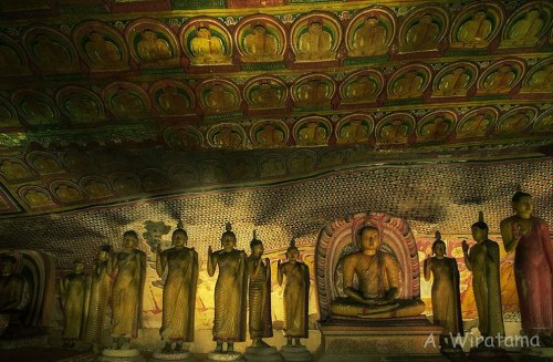 kuil buddha dambulla srilanka