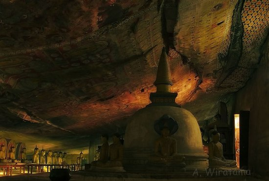 stupa maharaja lena dambulla