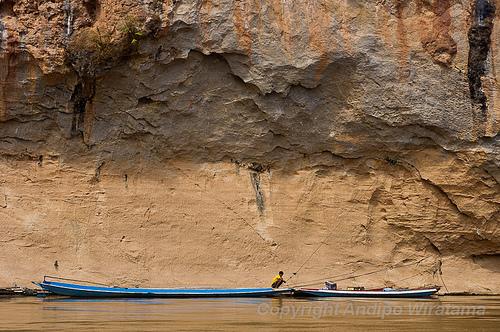 sungai mekong di derah pak ou